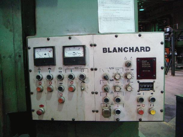 """42"""" Blanchard Mdl 22DA42 Rotary Grinder, S/N 15842, 42"""" Mag Chuck, 22"""" Seg Whl w/Filter System"""