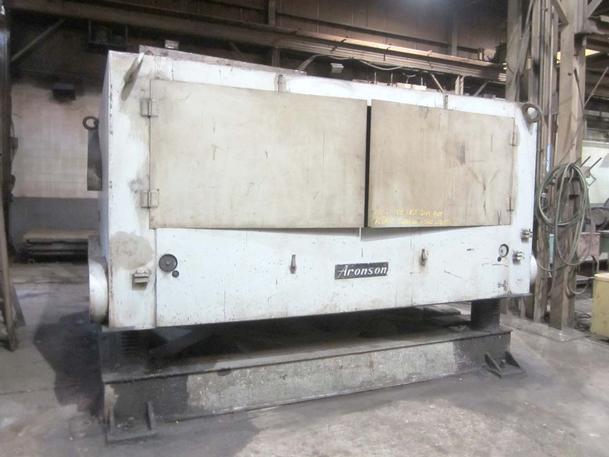 85,000 Lb. Aronson Model GE-850 Welding Positioner w/Geared Elevation