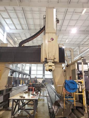 "Cincinnati Mag/Fives U5-1500, 5 Face CNC Tvlg Gantry Milling Mach, 1152"" X 144"" X 60"", '07"
