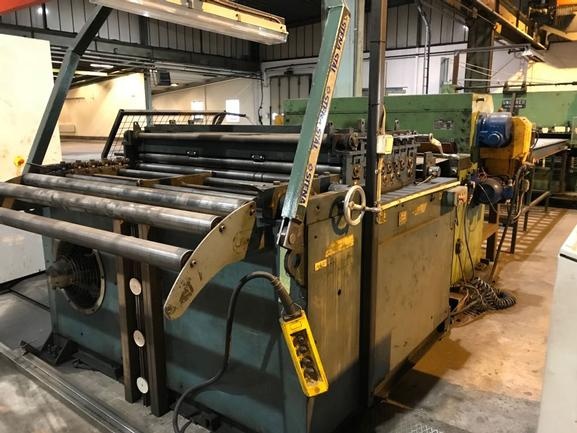 1400mm X 2mm X 12 Ton Cut-To-Length Line