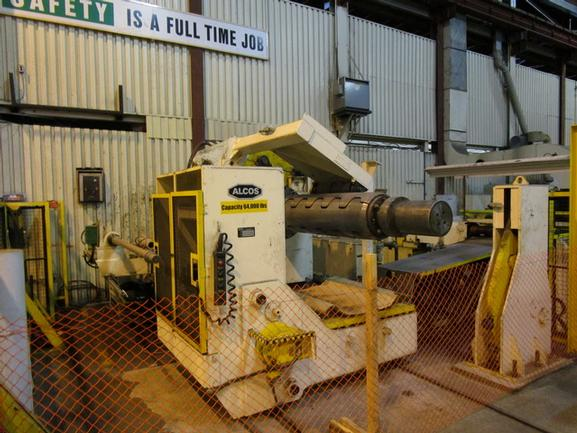 "60"" X .108"" Herr-Voss 64,000 Lb. Cut-To-Length Line"