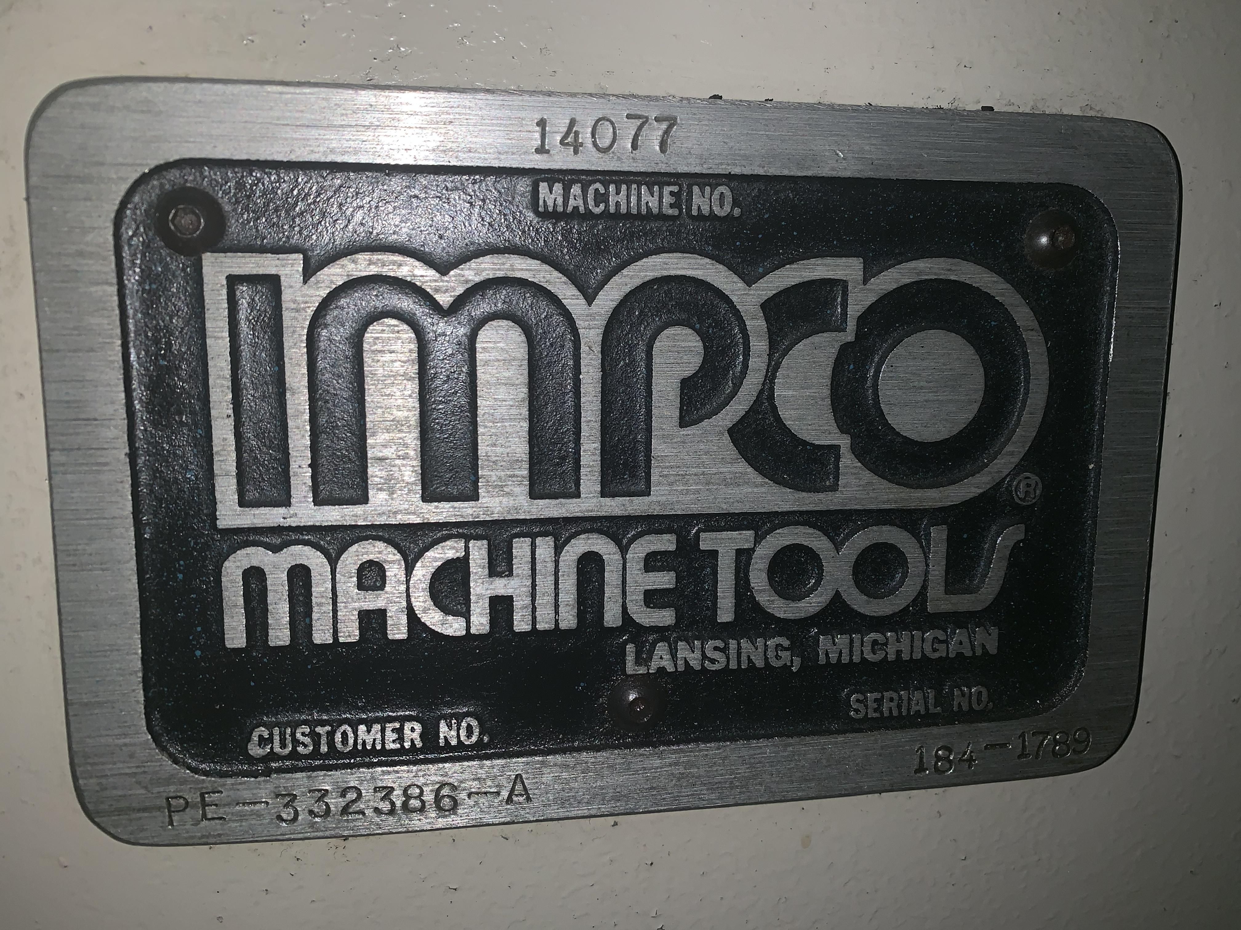 10 TON IMPCO MODEL MR-10 STRAIGHTENER PRESS: STOCK #10125