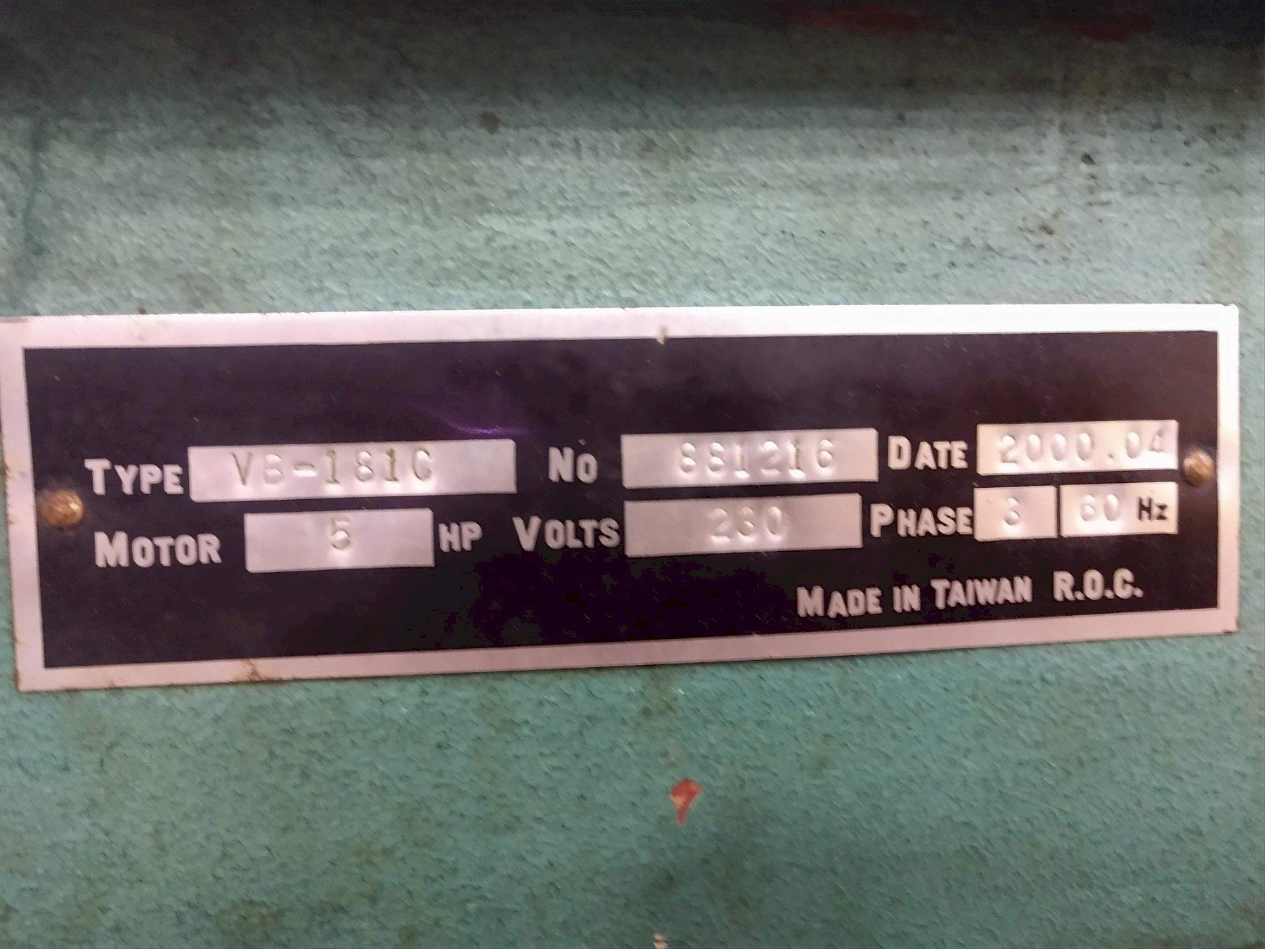 "18"" X 20"" PEERLESS MODEL #VB-181 VERTICAL BAND SAW: STOCK#12613"