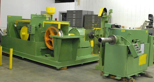 Stanat Wire Shaping Line With Dancer & Traverse Take-Up, (12310)