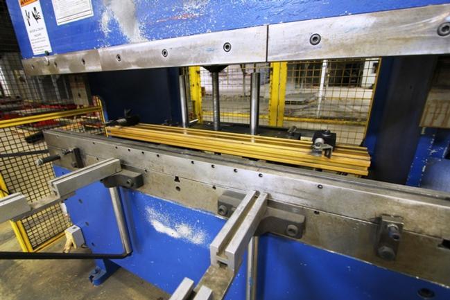60 Ton Accurpress No. 7606 6' CNC Hydraulic Press Brake