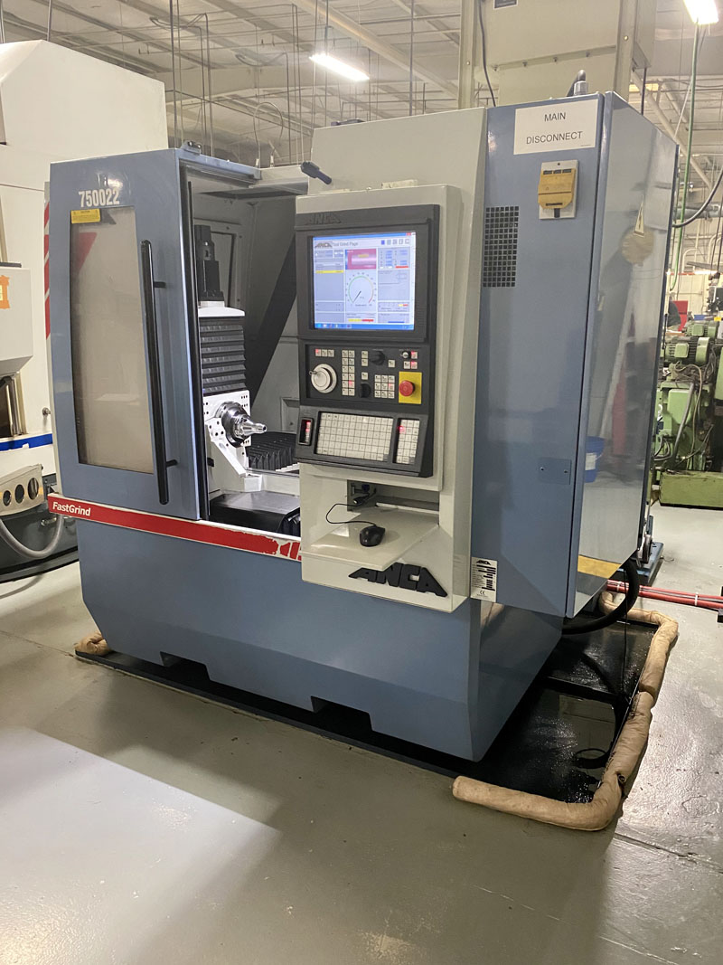 ANCA FASTGRIND 5 AXIS CNC TOOL GRINDING MACHINE, NEW 2009   UPDATED & RECERTIFIED BY ANCA 2017 