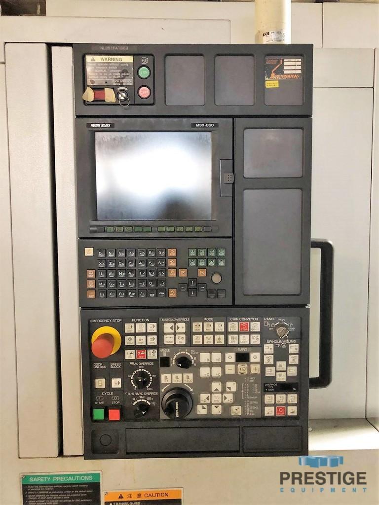 "Mori Seiki NL2500Y/700, 36"" Swing, 27"" C.C, 4000 RPM, Y-Axis, Milling, Tailstock, Coolant, Mori MSX-850 CNC, 2006, #31292"