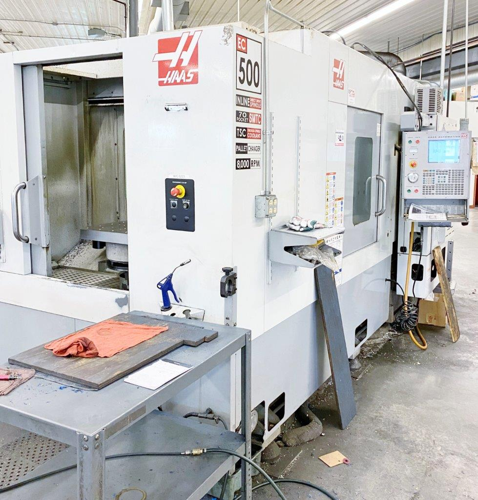 2006 HAAS EC-500 - THROUGH-SPINDLE COOLANT, 70 ATC, (3) AVAILABLE