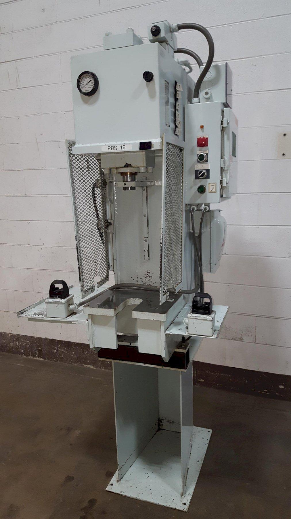 8-Ton Phoenix Model PHN-8 Bench Mounted Hydraulic Press