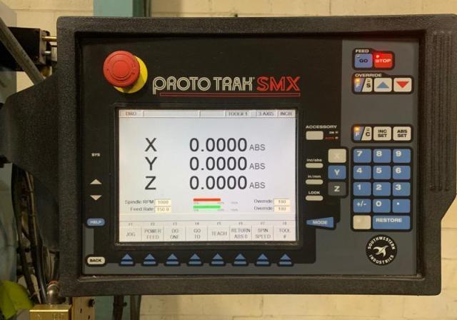 Southwestern Industries Trak DPM SX3P (2006) Programmable Spindle, Prototrak  SMX CNC Control
