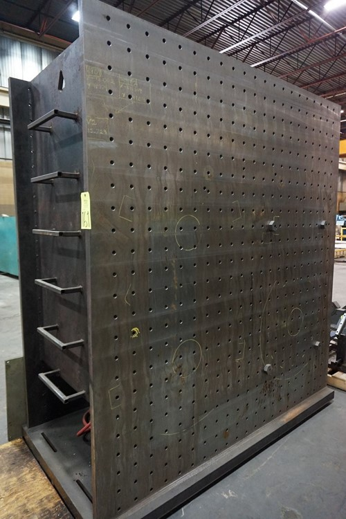 """None (1) Set 43.5"""" x 90"""" x 99"""" Double Sided Angle Plates"""