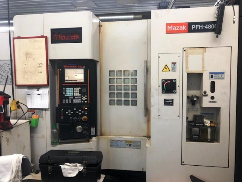 MAZAK PFH-4800 HORIZONTAL MACHINING CENTER