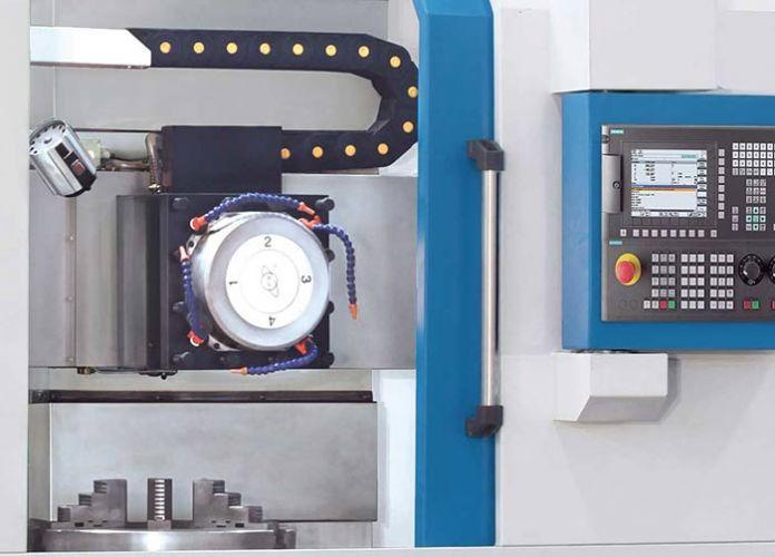 KNUTH MODEL VDL 800 CNC VERTICAL LATHE