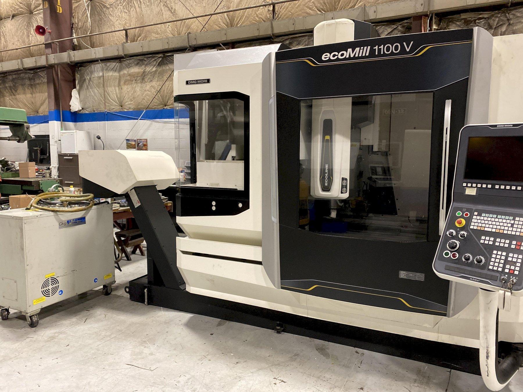 DMG Mori ecoMill 1100v CNC Vertical Machining Center