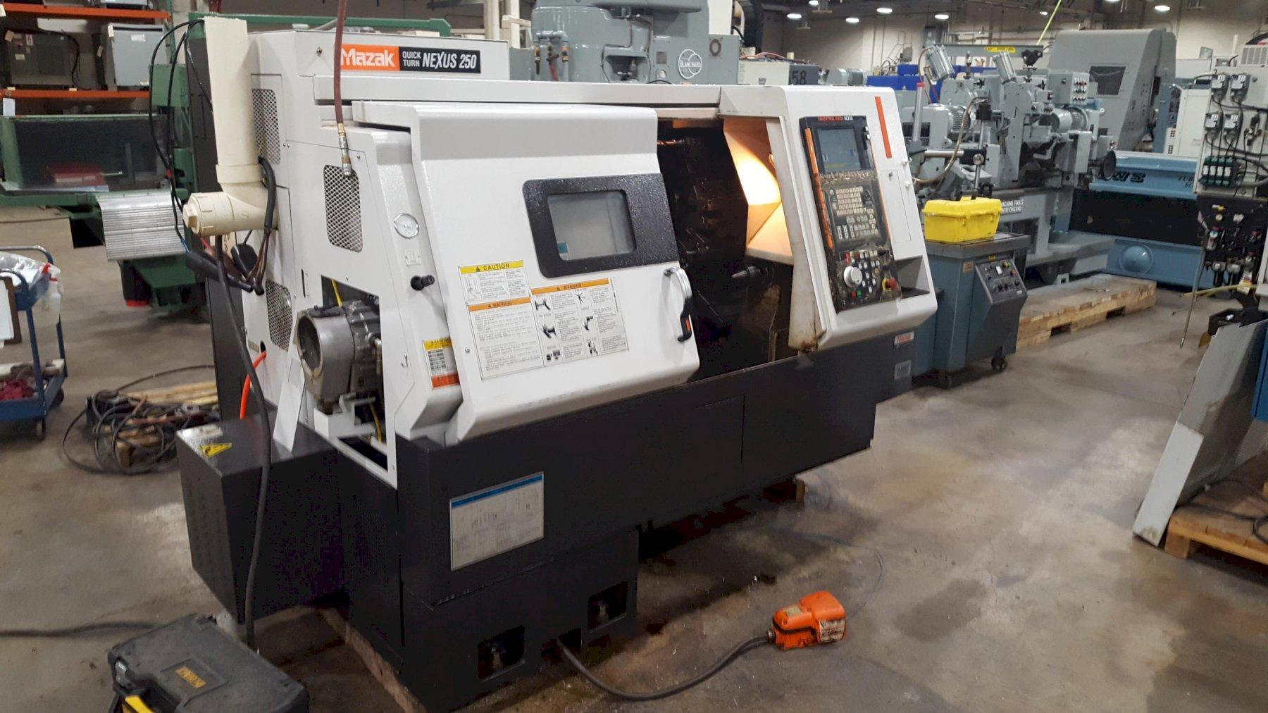 Mazak Quick Turn Nexus 250 CNC Turning Center