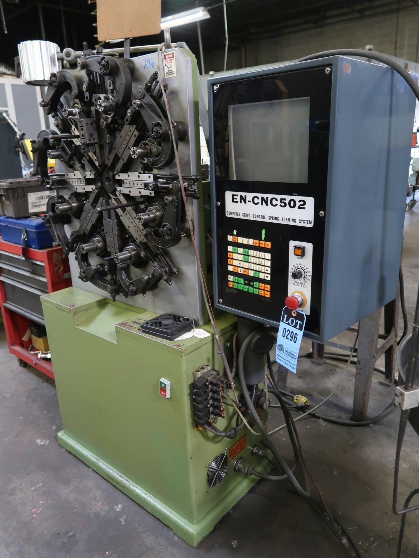 EN-CNC-502 ELECTRICALCNC SPRING FORMING MACHINE: STOCK #10773