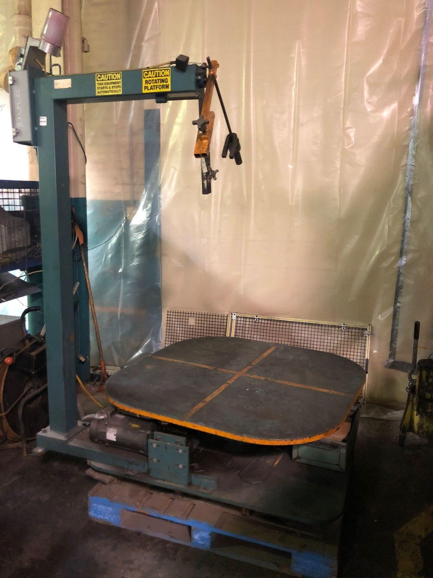 "48"" ROTATING UNCOILER TABLE: STOCK #10470"