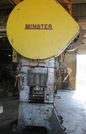 200 TON MINISTER MODEL #S1-200-30-36 SSSC PRESS: STOCK #10263