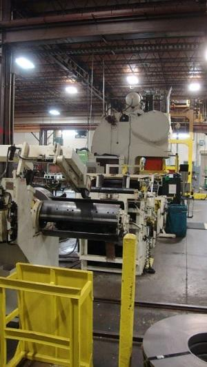 "30"" x .170"" x 10,000 LBS ROWE SERVO PRESS FEED LINE: STOCK 10074"