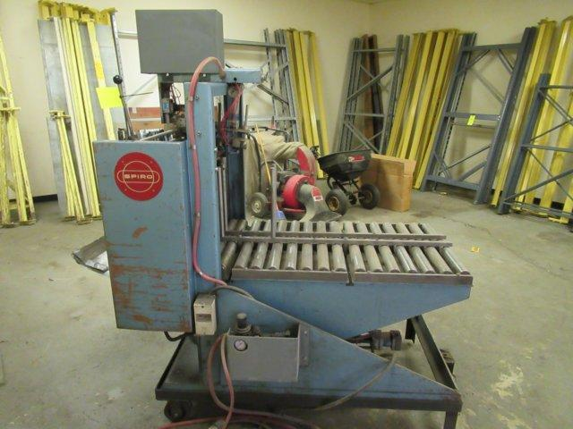 "4"" TO 16"" SPIRO MODEL #AR640 AUTOMATIC ROLL FORMING MACHINE: STOCK #11355"