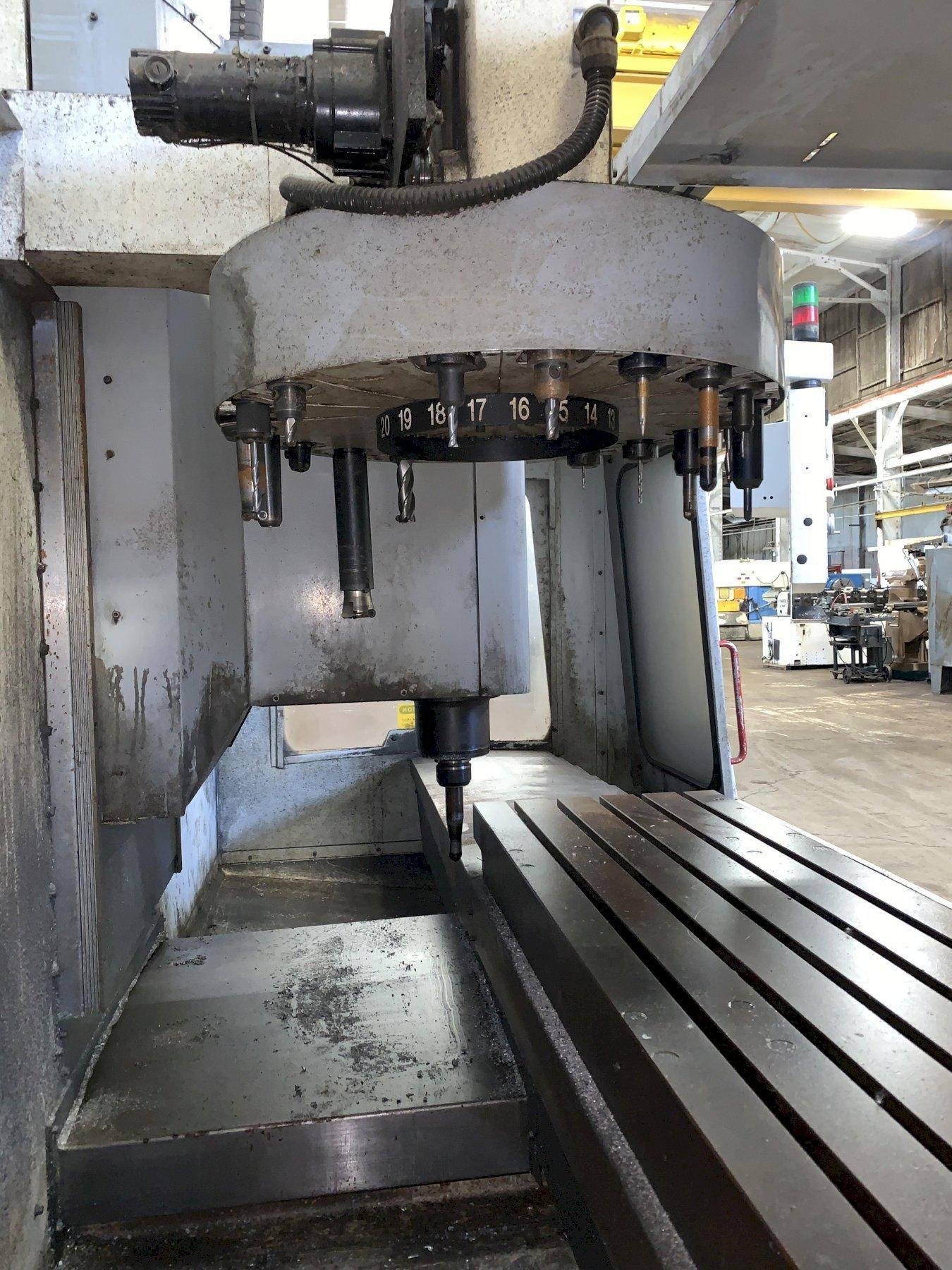 HAAS MODEL #VF4 VERTICAL MACHINING CENTER: STOCK 12216