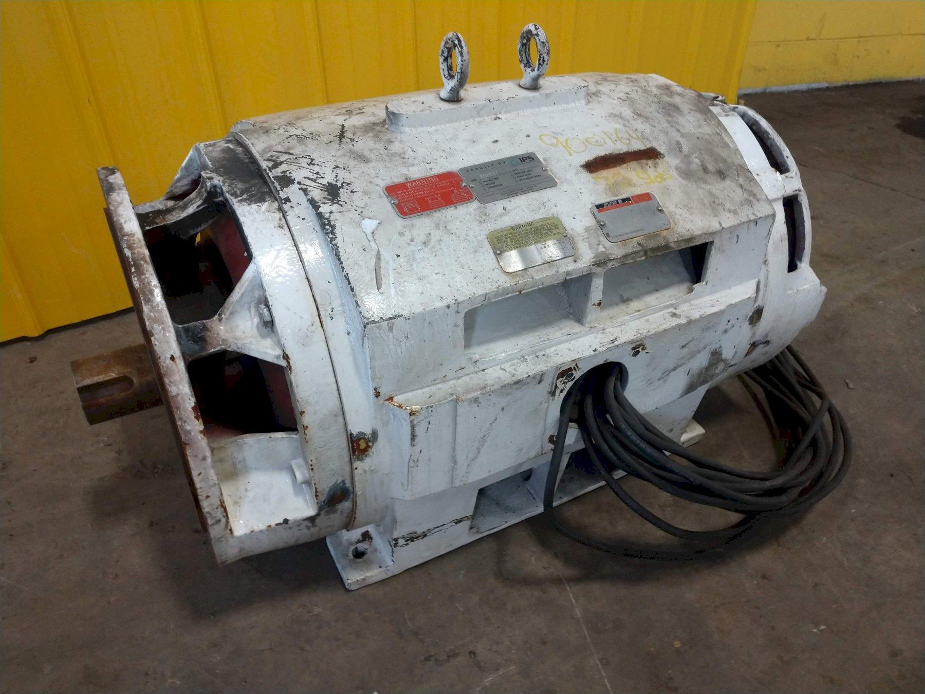 350 HP (REBUILT) RELIANCE ELECTRIC FRAME 449TDZ DUTY MASTER AC MOTOR: STOCK #13547