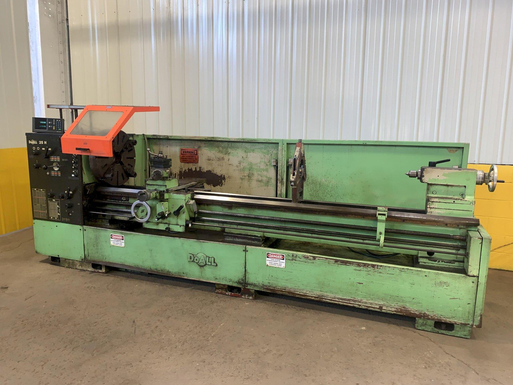 "25"" X 120"" DOALL ROMI MODEL 25H GAP BED ENGINE LATHE: STOCK #12892"