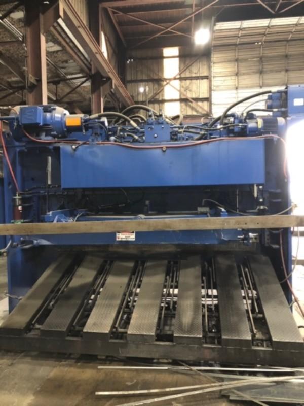 2018 Standard Industrial AS-500-10 Hydraulic Shear (#3612)