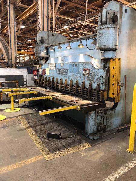 Cincinnati Inc 8N12 Hydraulic Shear (#3583)
