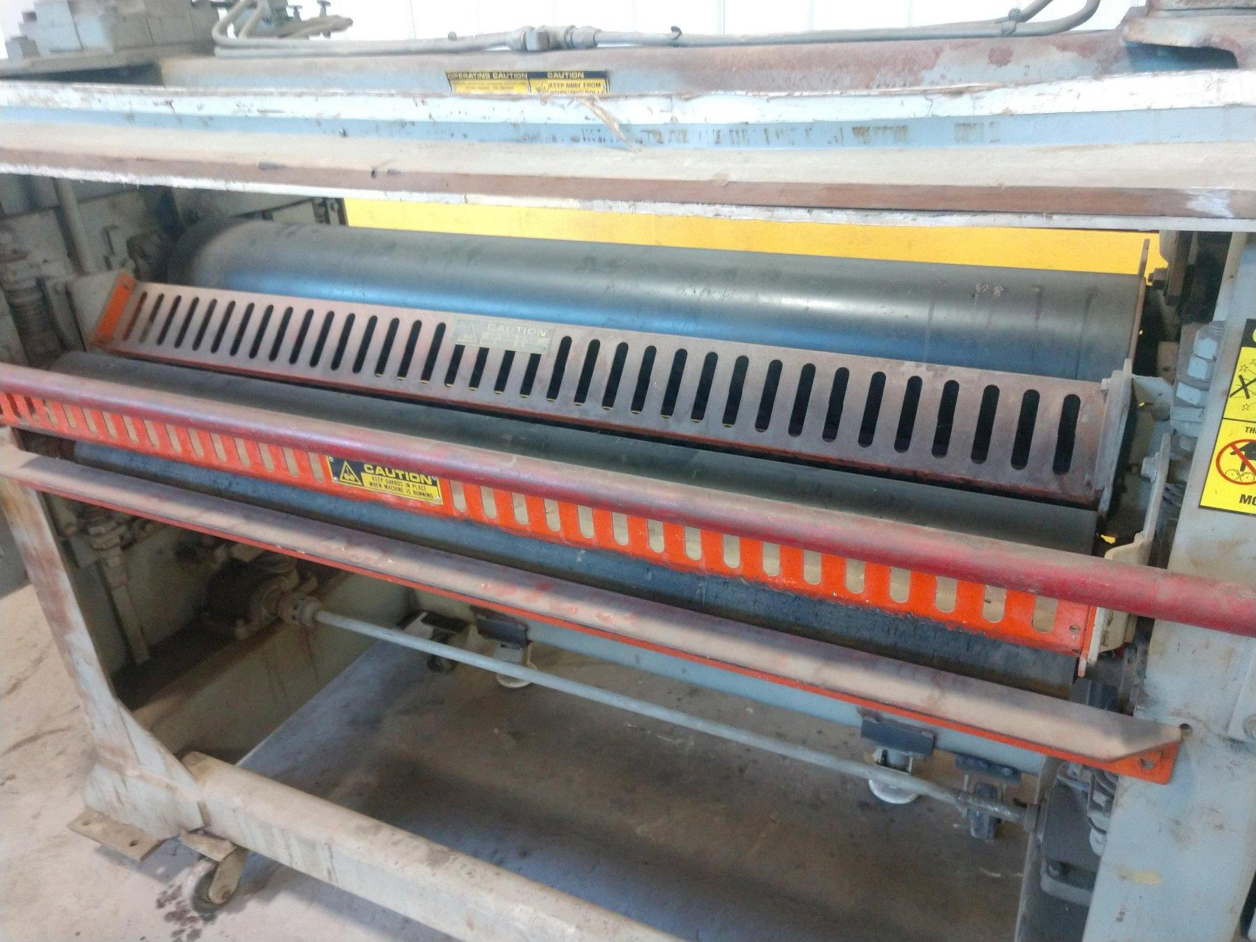 "56"" BLACK BROTHERS HOT MELT ROLL COATER: STOCK #13913"