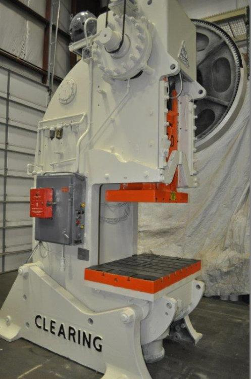 Used CLEARING OBI PRESS, Model C6, 150 Ton, Stock No. 9919