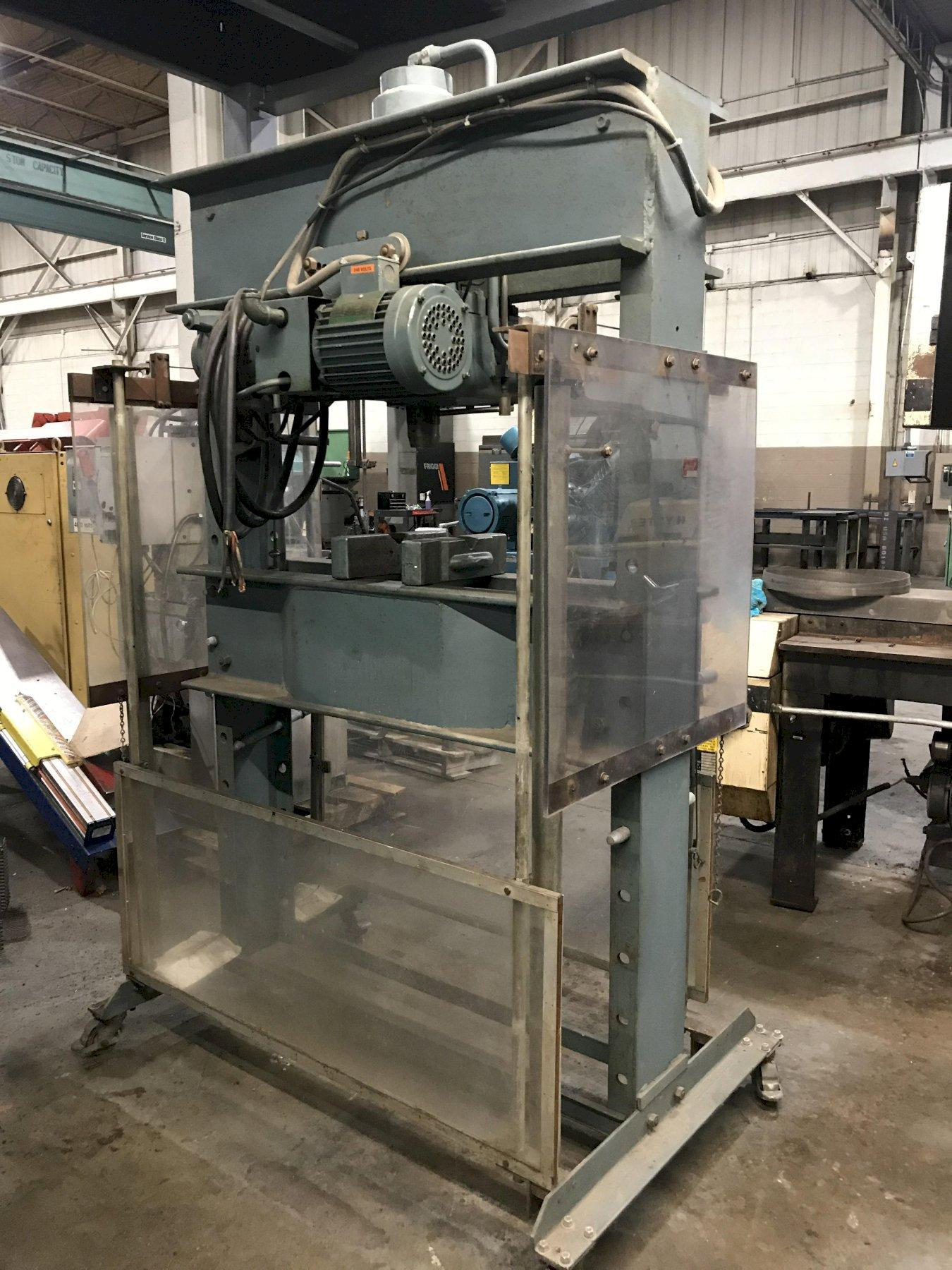 USED DAKE ELEC-DRAULIC H-FRAME PRESS, Model 5-264, 75 ton, Stock No. 10383