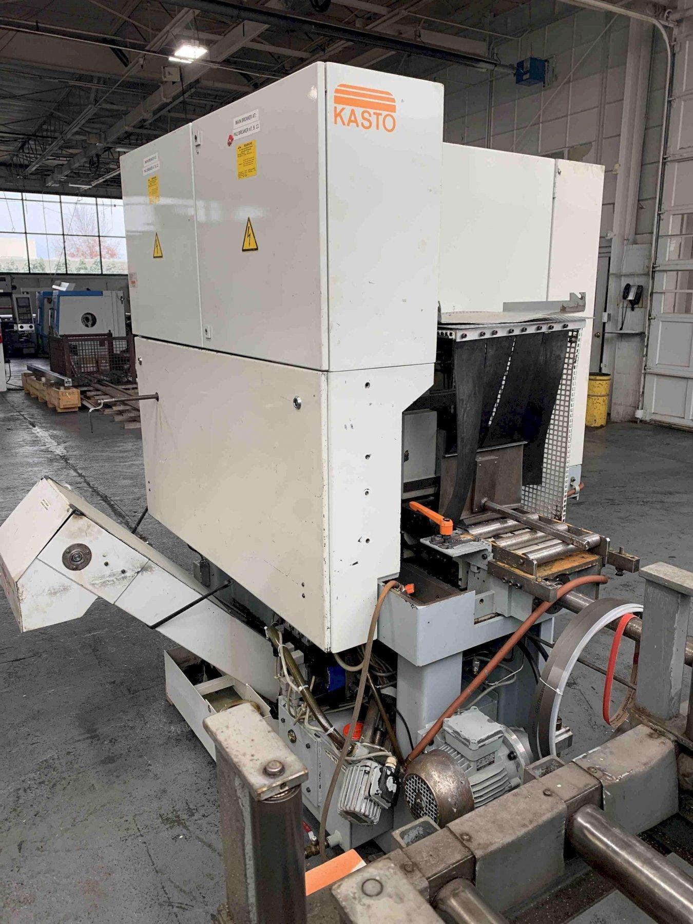"USED KASTO FULLY AUTOMATIC BANDSAW MODEL SSB260VA, 10.25"" x 10.25"", YEAR 1993, STOCK 10631"