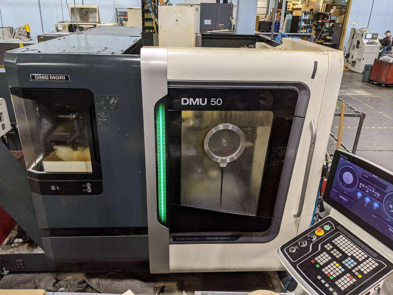 DMG Mori DMU 50 5-Axis Machining Center - New 2014