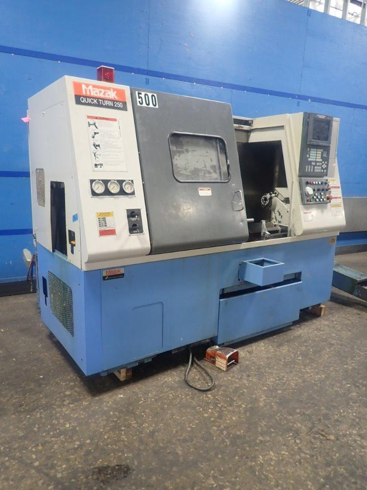 Mazak Quick Turn 250 CNC Lathe