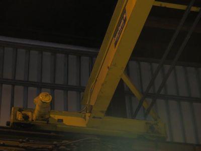 "5 TON X 44'3-3/4"" R & M OVERHEAD BRIDGE CRANE: STOCK 11196"