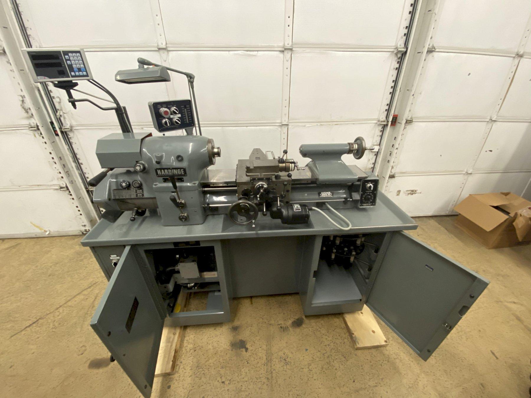 Hardinge HLV-H(EM) Toolroom Lathe, Mfg. 1991