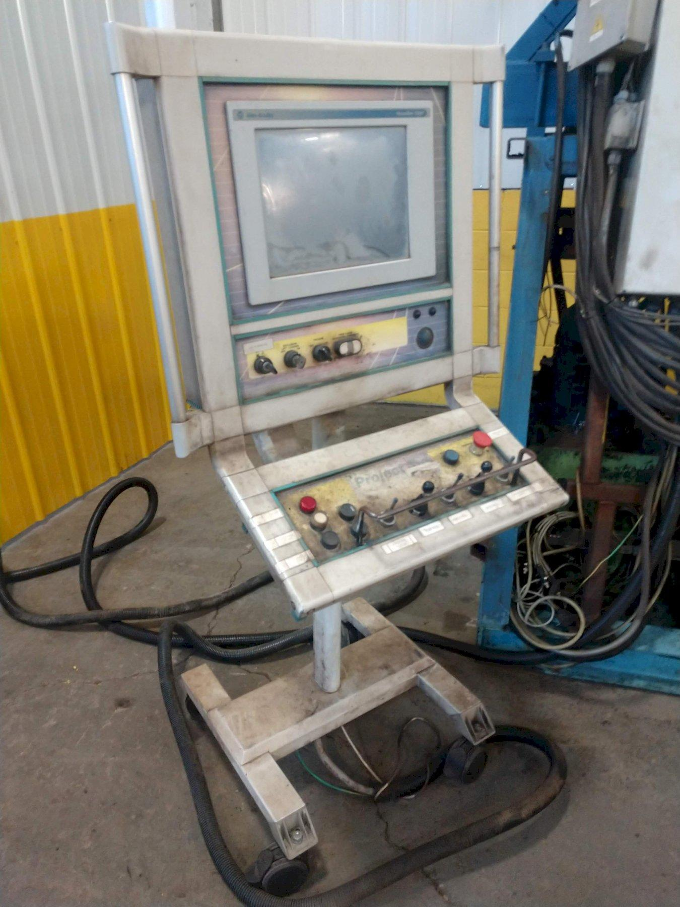 "8' X 1/2"" DAVI MODEL MCB2525/S 4-ROLL CNC PLATE BENDING ROLL: STOCK #14081"