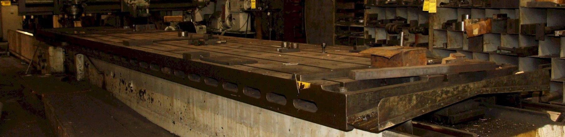 """66"""" X 360"""" T-SLOTTED TABLE: STOCK 11839"""