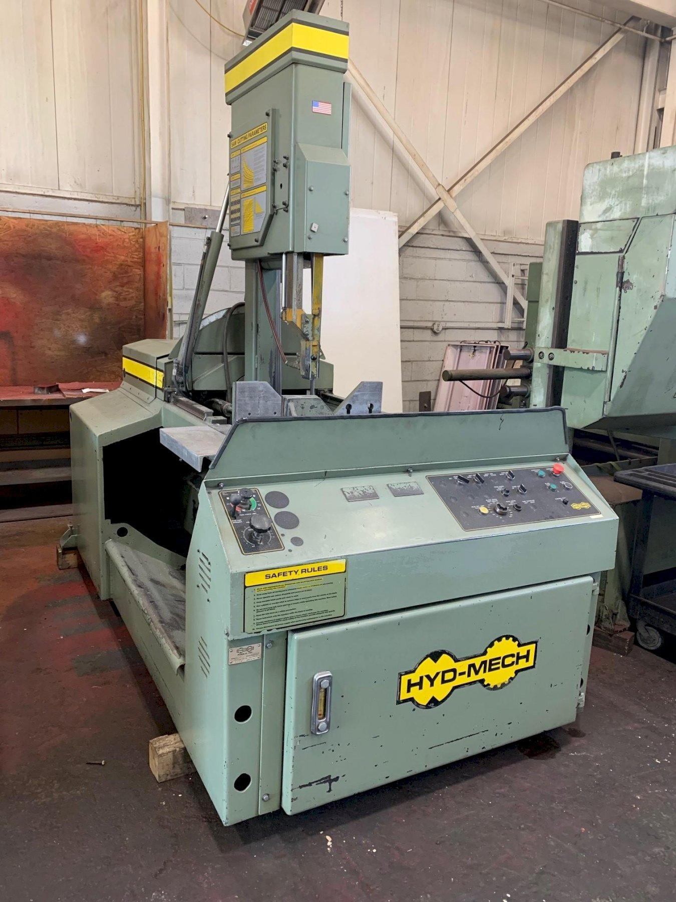 """USED HYD-MECH MODEL V-18 VERTICAL BANDSAW 18"""" X 20"""", Stock# 10874, Year: 1998"""