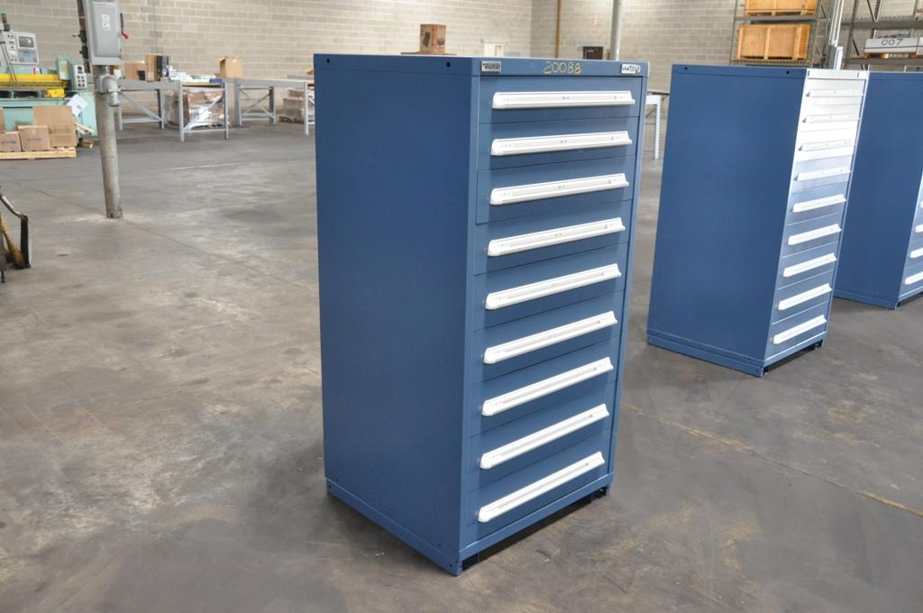 9 Drawer Vidmar Cabinet