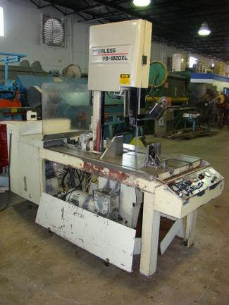 "18"" X 20"" Peerless VB-1820XL, Hyd Tilting Column, 1"" Blade, Coolant, 1996, (3) Avail, (5944)"