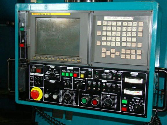 "Kasuga Q1000VS, 42""X,24""Y,25.6""Z,30HP,12K RPM,50 Tpr,Fanuc 18iMP Ctrl,40ATC,'01 (6593)"