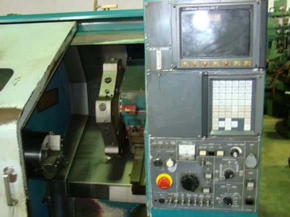 Nakamura Tome #TMC18, Fanuc 21T Ctrl, 10 HP, 4500 RPM, Chucker, '98 (6079)
