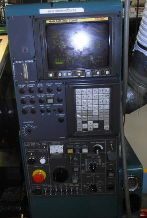 """Nakamura Tome #TMC-18, Fanuc 21-T, 2""""Bar, 4500 RPM, 10HP, 5C Nose, 8""""Chk, Tlstk, 1999"""