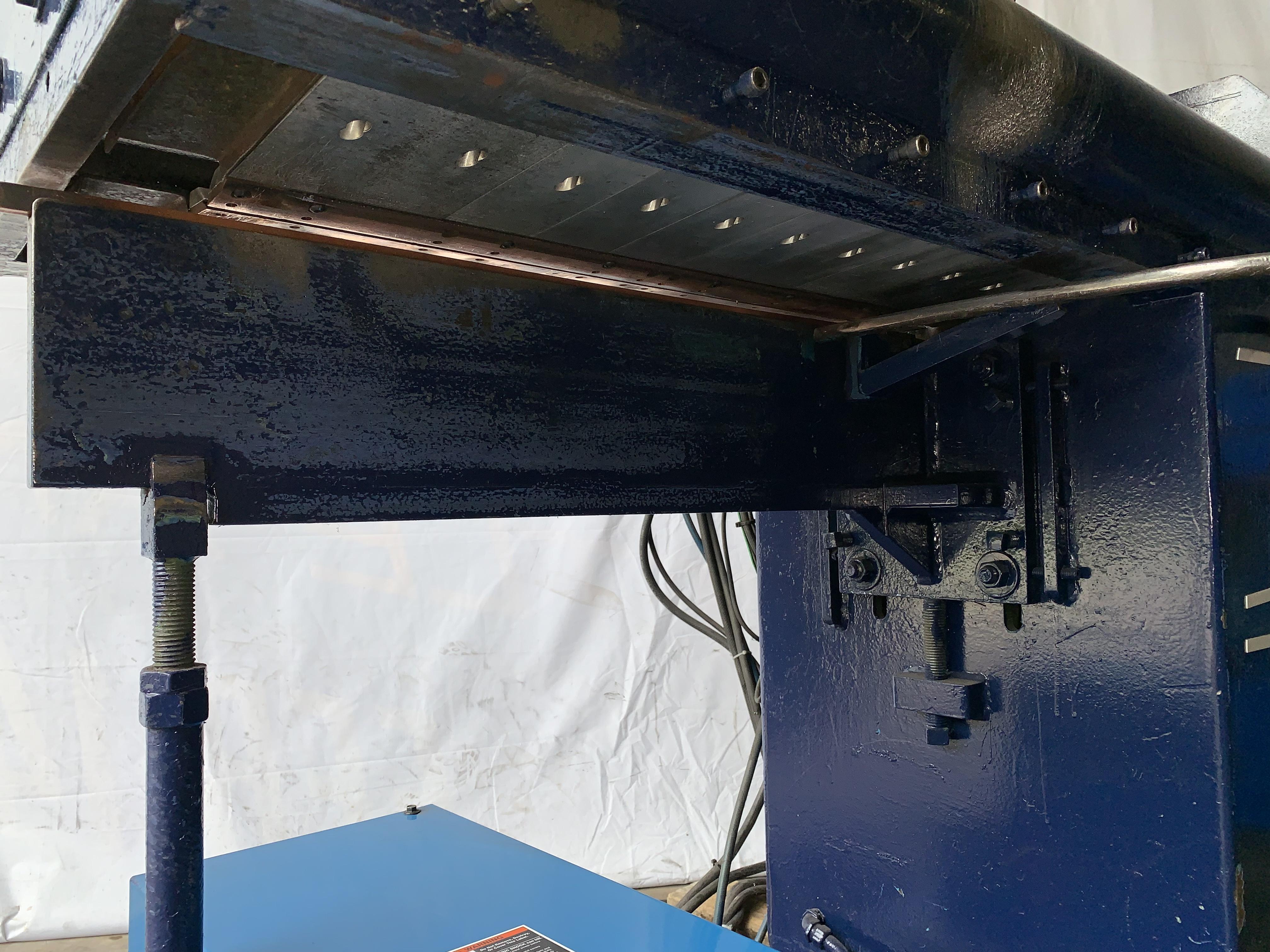 """24"""" JETLINE MODEL #SWC-3B-9500 SEAM WELDER WITH MILLER WELDER & COMPONENTS: STOCK 11041"""