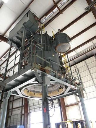 "60"" Dia X 96"" Deep, Ipsen Vacuum Furnace, Bottom Load, Elec 2400 F., Excellent Condition"