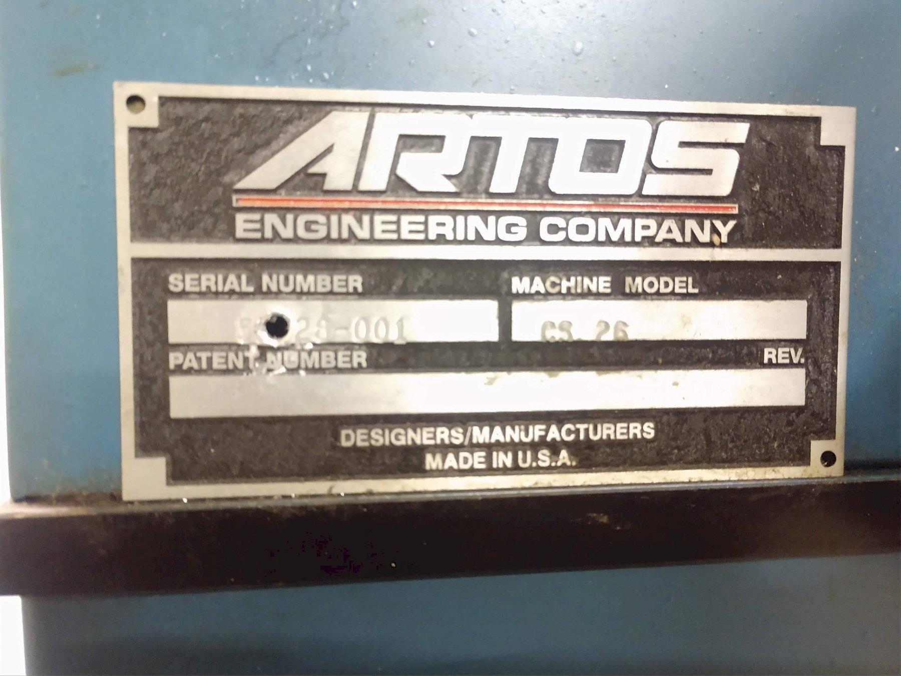 ARTOS MODEL SG-5A SOFT GRIP WIRE STRIPPING MACHINE: STOCK #12513