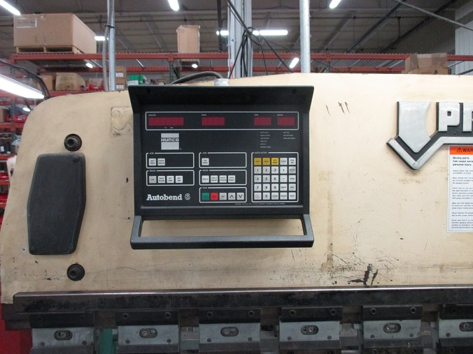 40 Ton Promecam 35-25, 8', Hydraulic, Up-Acting, 1974, #16966
