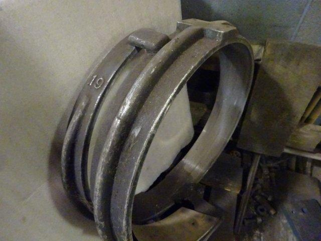 SPIRO SPIRAL DUCT FORMING HEADS (PLEASE CALL TO DISCUSS): STOCK #11354